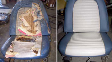 Broadway Upholstery Leather Wood Restoration Auto Carpet